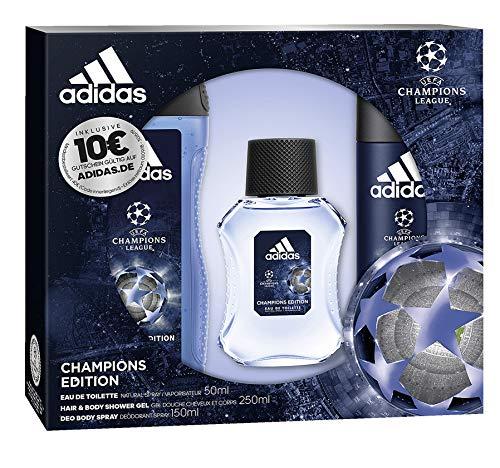 League Champions Edition Eau de Toilette 50 ml + Deospray 150 ml + Showergel 250 ml + Voucher, 450 ml ()