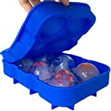 Best Ice Cube Trays With Covers - Silicone Ice Moulds Spheres Whisky Ice Maker Ball Review