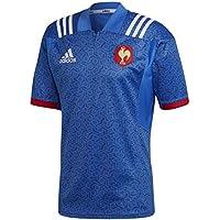 adidas Federación Francesa Camiseta de Equipación, Hombre, Azul/Blanco (Rojpot), M