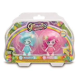 Glimmies - Serie 2 Blister 2 Figuras Bunnybeth + Volaria (Giochi Preziosi GLN01000)