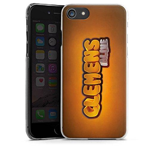 Apple iPhone X Silikon Hülle Case Schutzhülle Clemens Alive Fanartikel Merchandise Youtuber Hard Case transparent