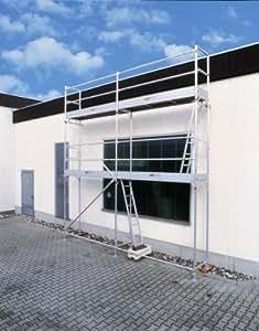 ALTEC aluminium fassadengerüst aluSprint 31 m², pas d'acier