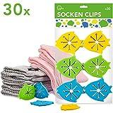 Itena, molle in silicone per i calzini ad inserimento facile, pacco famiglia (30pezzi) 3-farbig