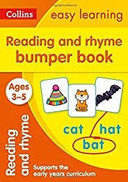 Reading and Rhyme Bumper Book Ages 3-5: Ideal for Home Learning