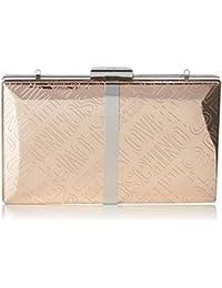 Love Moschino Borsa Embossed Tpu Rame, Sacs baguette femme, Marron (Copper), 3x13x20 cm (B x H T)