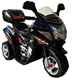 Trendsky® Black Kinder Motorrad Elektrofahrzeug