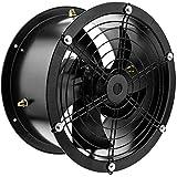 PrimeMatik - Extractor de Aire de Tubo de 300 mm para ventilación...