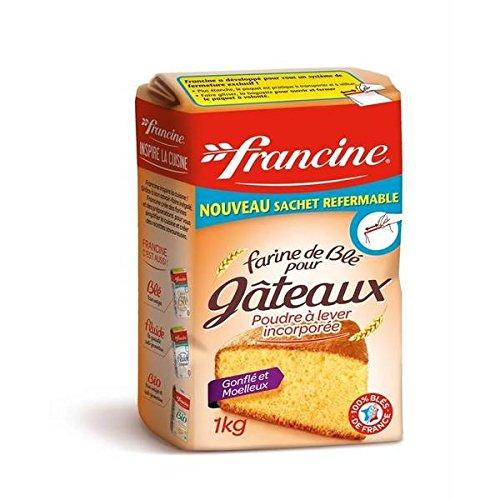 Francine Farine gâteaux 1 kg - ( Prix Unitaire ) - Envoi Rapide Et Soignée