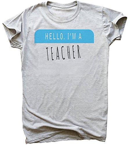 Hello. I'm A Teacher Men's T-Shirt