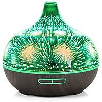Máquina de cristal en 3D la aromaterapia,Fuegos artificiales