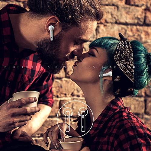 Bluetooth Kopfhörer Sport Earphones Stereo Bluetooth V5.0 In Ear True Wireless Earbuds Over Ear kabellose kopfhörer Ohrhörer HD Sound CVC 6.0 Noise Cancelling Headset mit Mikrofon für iPhone Samsung - 6