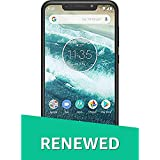 (Renewed) Moto One Power (P30) Note (4+64GB) Black (Black)
