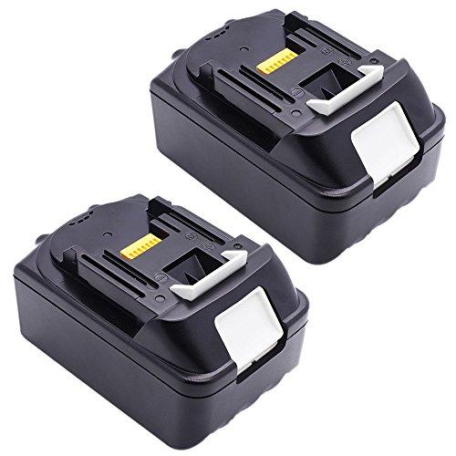 Preisvergleich Produktbild PowerWings 2 Stück 3,0 Ah 18V Ersatz Akku für Makita BL 1830 BL1815 BHP451 BDF452HW BHP452RFWX BHP453RFX