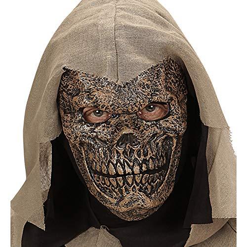 Kostüm Warlord Erwachsenen Für - Widmann 00457 Schaumlatexmaske Death Warlord, Mehrfarbig