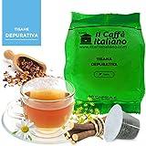 50 Cápsulas de Tisana compatibles Nespresso sabor Tisana Purificadora , 50 Cápsulas compatible con maquinas Nespresso, Paquete de 5x10 por un total de 50 Capsules, 50 cápsulas tisana, Il Caffè italiano
