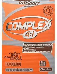 Infisport Complex 4:1 - Mix de carbohidrados y proteínas en polvo, sabor de chocolate, 1 kg