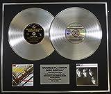 THE BEATLES/Zweifache Platin Schallplatte DISPLAY/Limitierte Edition/COA/PLEASE PLEASE ME & WITH THE BEATLES