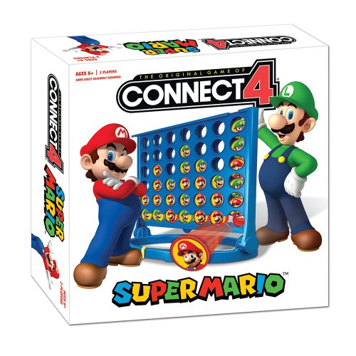 Super Mario Bros Connect 4 Brettspiel