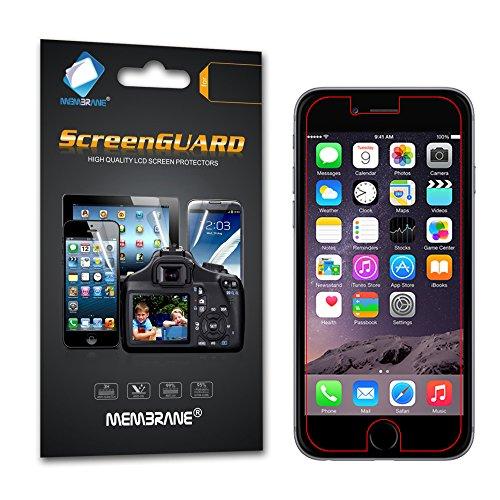 Galleria fotografica 6 x Membrane Pellicola Protettiva Apple iPhone 6 Plus / 6S Plus 2015 (5.5) - Trasparente, Confezione ed accessori