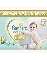 Pampers Premium Care Super Value box pack, Medium (Pack of 162)