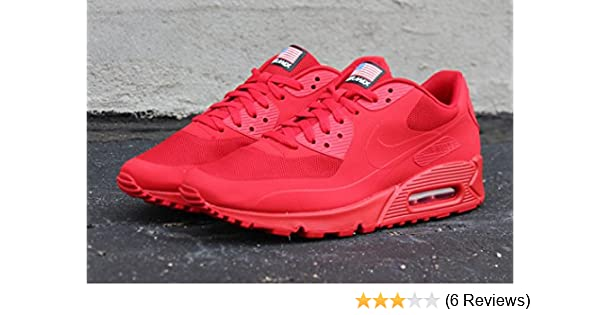 116b2635fe9f NIKE AIR MAX 90 INDEPENDANCE DAY RED HYPERFUSE SIZE  UK 7.5 EUR 42   Amazon.co.uk  Shoes   Bags