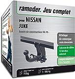 Rameder Attelage rotule démontable pour Nissan Juke + Faisceau 13 Broches...