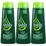 3x Vosene Medicated Original Anti-Dandruff Shampoo for All Hair Type 250ml