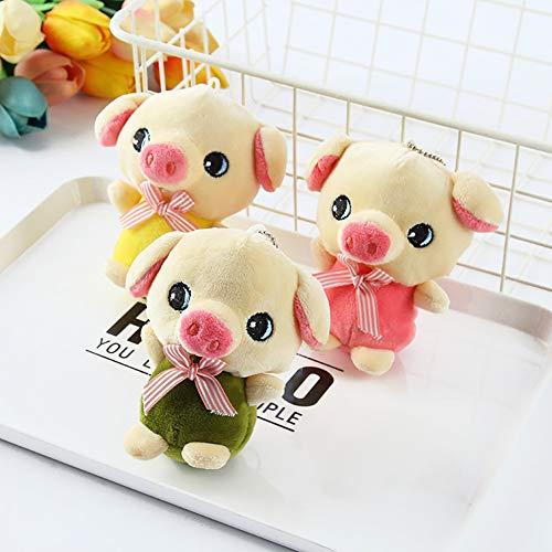 cA0boluoC süßes Cartoon-Schweine-Fliege, weiches Spielzeug Plüschpuppe Stofftier Maskottchen für Kinder Mädchen Geburtstag Geschenk
