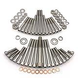 MZ TS 250/1 Motor MM250/4 Zylinderschrauben mit Innensechskant aus Edelstahl