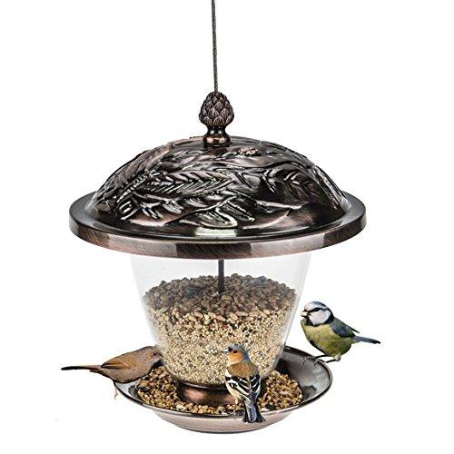 ZOE Vogelhäuschen Vintage Handgefertigte Outdoor Decor Villa Garten Dekoration Hängende Vogel Outdoor Fütterung