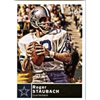 2010 Topps Magic Football Card # 193 Roger Staubach - Dallas Cowboys - NFL Trading Card in soft sleeve and/or top load!