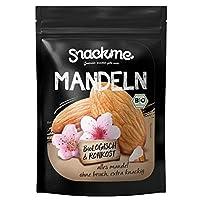 Bio süße Mandelkerne (500g / 1kg) Nüsse mit Haut - ohne Bruch, unbehandelt, ungesalzen, ungeröstet und naturbelassen