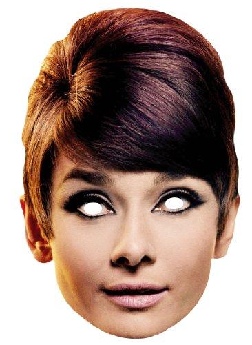 Star Cutouts Bedruckte Gesichtsmaske von Audrey Hepburn