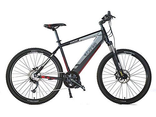 Brinke ALLROAD Bicicletta elettrica Motore motore centrale 8FUN brushless 36v 420w 700c batteria Samsung ad alta efficienza da 36v 11.6 Ah (420w) con BMS (BATTERY MANAGEMENT SYSTEM)
