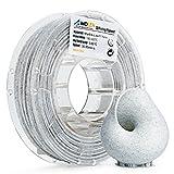 AMOLEN 3D Drucker Filament Marmor Farbe, PLA Filament 1.75mm 225G(0.5lb),+/- 0.03 mm 3D Drucker Materialien, enthält Proben Seide und Bronze Filament.