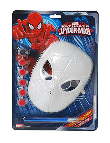ke Spider-Man Malbuch, rot, Einheitsgröße (Costumi Halloween Bambini)