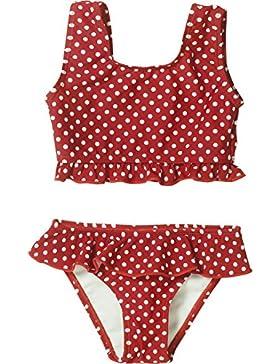 Playshoes Mädchen Set Uv-Schutz Bikini Punkte