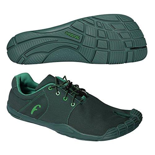 Freet leap2Scarpe unisex Verde scuro