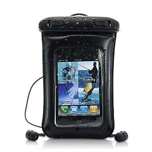 High-Tech Place Coque étanche pour iPhone / iPod Touch / Smartphone Android avec Ecouteurs Waterproof
