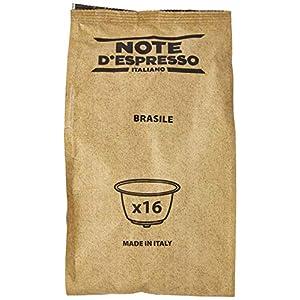 Note D'Espresso Brasile, Capsule per caffè, in capsule esclusivamente compatibili con macchine Dolce Gusto 7 g x 48 Esclusivamente Compatibili con le macchine a capsule Nescafé* e Dolce Gusto*