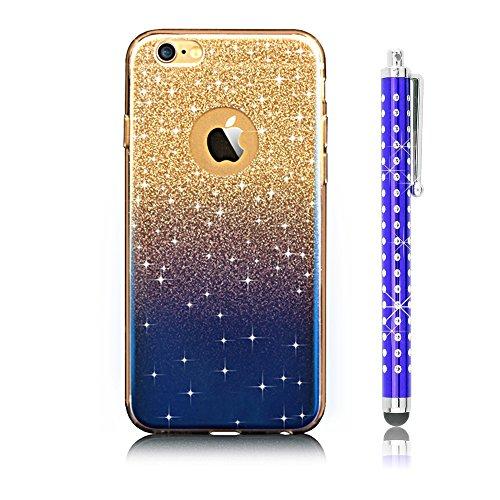 iPhone 6S plus Custodia, Sunroyal® UltraSlim Bling Soft Mat TPU Silicone Case Cover per Apple iPhone 6S plus plus iPhone 6 plus( 5.5