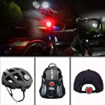 Hually-Luci-per-Bicicletta-Luci-Bici-800mAh-USB-Ricaricabile-Impermeabile-LED-Faro-e-Fanale-Posteriore4-modalit-Batterie-Inclusive2-Cavi-USB-Incluso