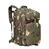 Backpack Backpack Outdoor Sports Backpack Tactical Package travel Mountaineering Bag-Wolf Brown