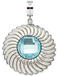 Leonardo Damen- Anhänger Darlin's Im so Edelstahl Glas blau - 015507