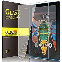 Lenovo TAB 10 Cristal Templado Protector, IVSO Premium Protector de Pantalla de Vidrio Templado para Lenovo TAB10 / Lenovo TB-X103F Tablet (Tempered-Glass - 1 Pack)