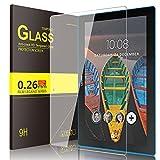 Lenovo TAB 10 Cristal Templado Protector, IVSO Premium Protector de Pantalla de Vidrio Templado para...