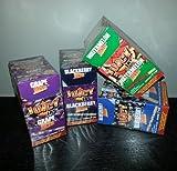 """8 x Juicy Jays Jones """"colori assortiti"""" sapor di fumatori di Carta arrotolato coni riutilizzabili in legno con Pre (dank7) punta - vendute da Trendz"""