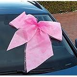 Große Autoschleife rose