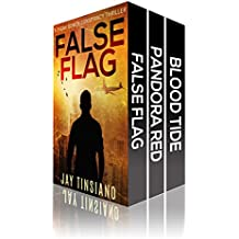 99 Degrees Thriller Boxset: False Flag, Pandora Red, Blood Tide