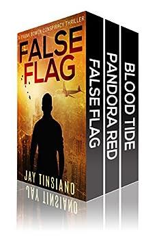 99 Degrees Thriller Boxset: False Flag, Pandora Red, Blood Tide by [Tinsiano, Jay]